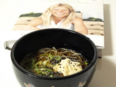 グウィネス・パルトローのレシピよりタンパク質豊富なデトックスメニューは、日本食も