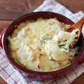 トースターで簡単!豆腐オートミールグラタンレシピ!ホワイトソースなしバターなし