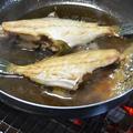 炭火で作る『ウマヅラハギの煮付け』 by 炭火グルメだんらんさん