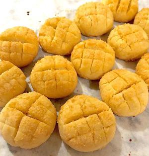 まるでメロンパン?!なクッキー