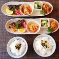 焼き鯖de和プレート☆白菜(シロナ)のマヨポン和え♪☆♪☆♪