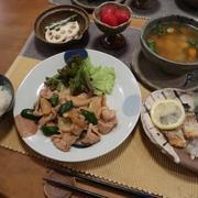 """豚生姜焼きと""""作り置き""""で晩ご飯 と ドローン♪"""