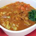 本格インドな「トマトカレー鍋」