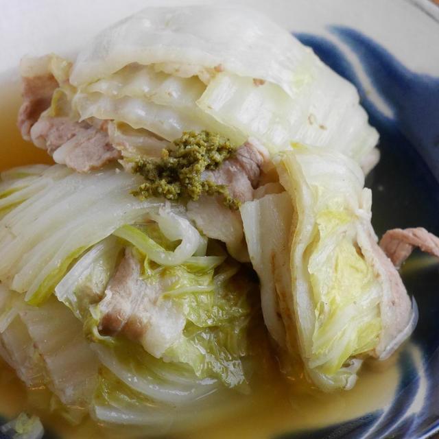 煮汁がおいしい!白菜と豚バラの重ね煮の作り方