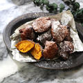 かぼちゃのドーナツ風揚げおやつ♡【#簡単レシピ#ハロウィン】