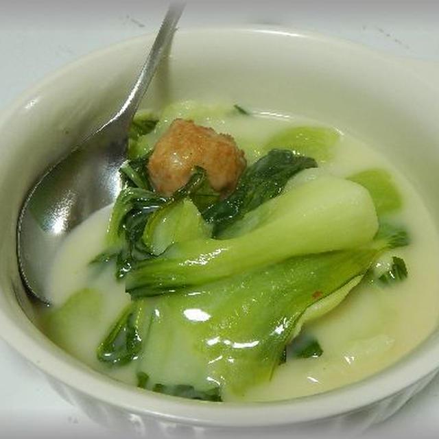青梗菜のクリーム煮~あったまるぅぅ