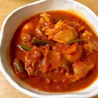 『鶏肉のつゆうまトマト煮』を作ってみた!