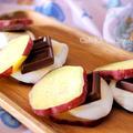 簡単おやつレシピ*おいもでスモア 簡単 お菓子 レシピ