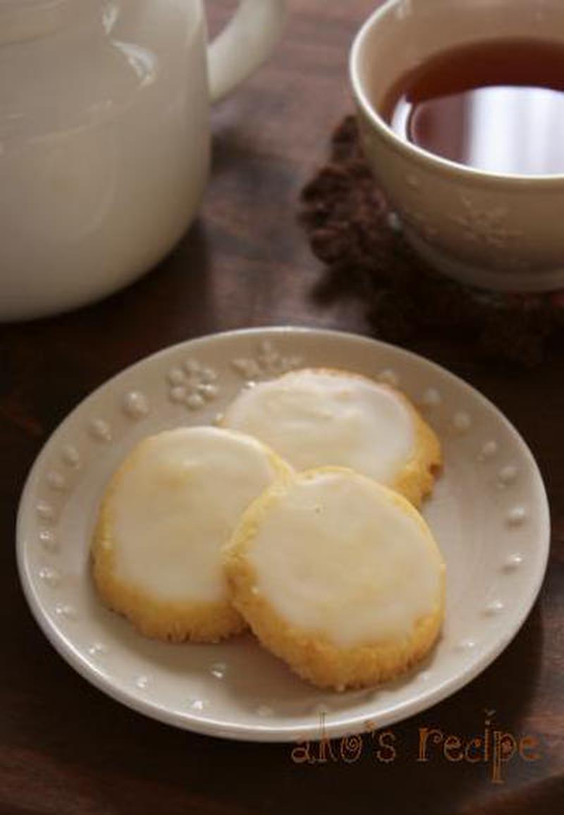 ■さわやかすぎるレモンアイシングクッキー<br><br>「さくさくクッキーにレモンのアイシングをかけ...