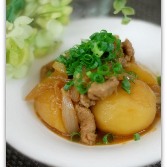 【staub】醤油麹で作る韓国風豚じゃが