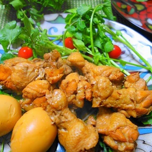 鶏肉の酢煮込み☆スパイスの風味でちょっとエスニック