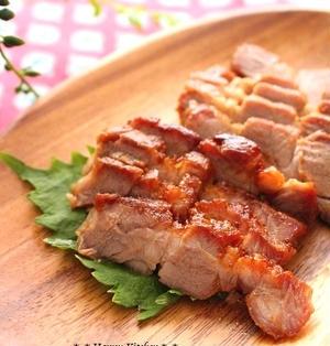 レンジで10分!味噌だれ焼き豚【少量】