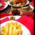 我が家のクリスマスパーティーメニュー★丸ごとローストチキン