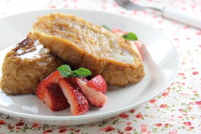 【連載】ナスラックキッチン『イチゴのフレンチトースト』