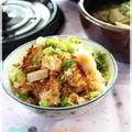 鮭と蓮根の醤油麹 炊き込みご飯 by hannoahさん