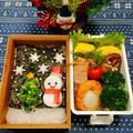 クリスマス ✰海苔弁でツリー&雪だるま弁当 by とまとママさん