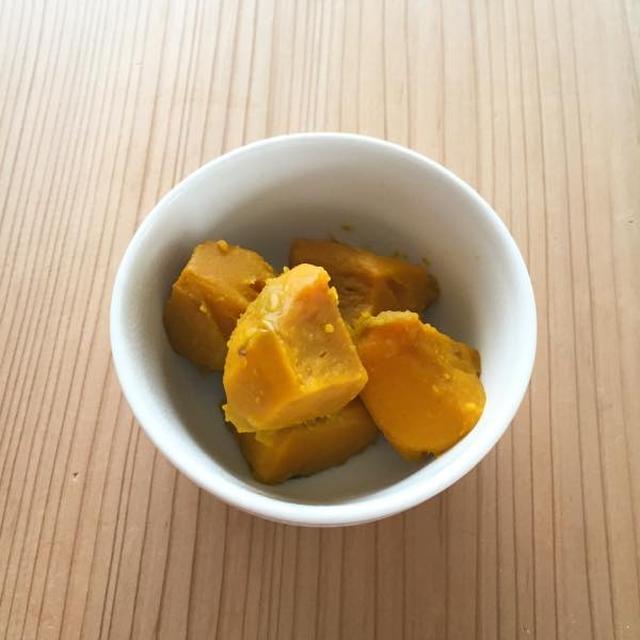 かぼちゃの煮付け・クミン風味