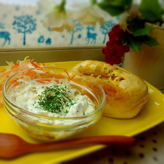 クリームチーズのデイップ♪ スキンケア発想のレシピ