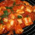 ポテトニョッキのトマトソース