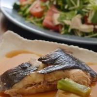 煮つけと塩鶏の和えサラダと作り置きカレーのごはん2DAY。