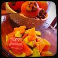 フレンチみたいな柿サラダ