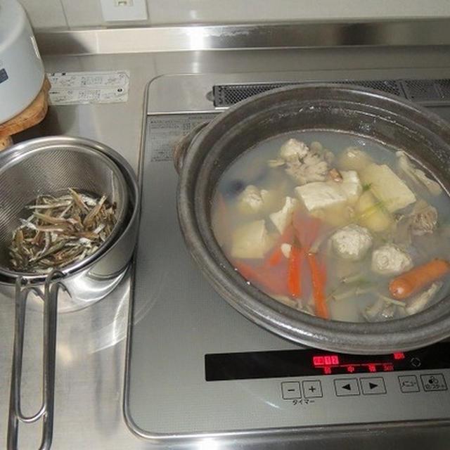 〆にラーメンが美味しい、寄せ鍋、ラーメン編♪