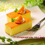 ホットケーキミックスでハロウィン簡単お菓子♪カステラ食感フワフワかぼちゃケーキ&ラブラブ熱帯魚