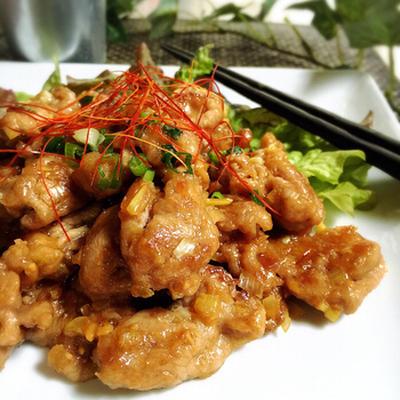 節約!ご飯がすすむ☆豚こま肉の味噌炒め