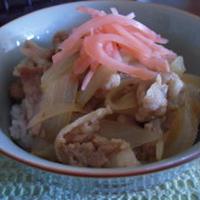 ルクエ×エバラ黄金の味で~豚丼!