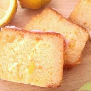 レモンマーマレードのティーケーキ