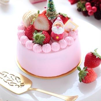 クリスマスケーキ2019 ~イチゴ&マロンショート