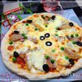 アンチョビポテトのほく旨ピザ♪簡単生地で
