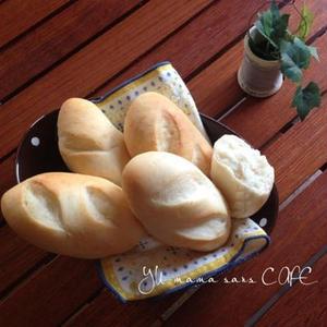ヨーグルトをたっぷり入れたら、おうちパンがふわふわに焼けました!