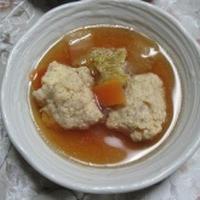 サルバチアの鶏団子スープ