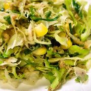 キャベツの千切りでカロリーオフな作り置き ツナとキャベツのサラダ