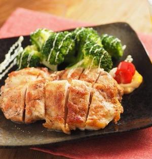 鶏もも肉の明太マヨネーズ焼き