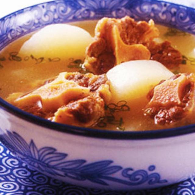 牛肉蘿蔔湯│牛肉とダイコンのスープ