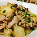 冬瓜と豚肉のピリ甘辛炒め