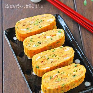 ふわふわ分厚い!お弁当の定番「厚焼き玉子」のアレンジレシピ