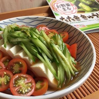 お野菜まる たたききゅうりの素 で簡単おつまみ♪