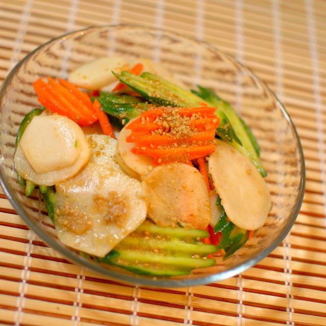 彩り野菜のゴマサラダ