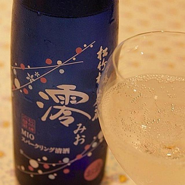 スパークリング清酒「澪」と海鮮コロッケ☆レシピ付