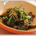 ターサイとそずり肉の中華粥☆