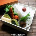 ぶりのトマト味噌ソース煮(すだち風味)~パパのお弁当~