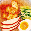 ダイエットメニュー☆しらたきキムチ冷麺の簡単人気レシピ by 伊賀 るり子さん