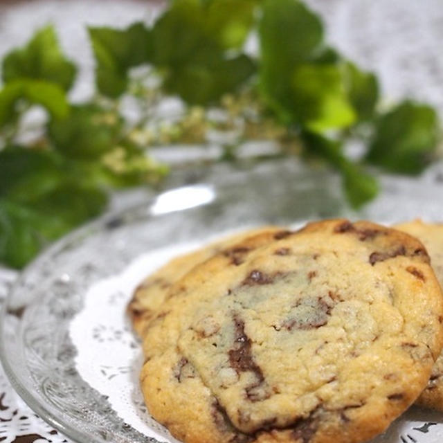 チョコ チャンク クッキー 簡単しっとりチョコチャンククッキーの作り方|手作りチョコレシピ|...