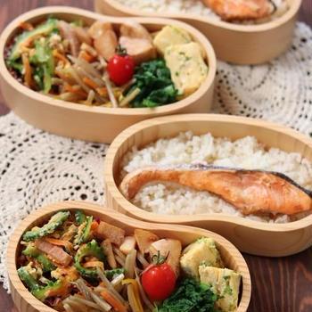 月曜鮭弁 ✿ 貯め生活♪