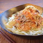 血液サラサラ!梅味噌おろしの鉄板サバ水煮オニオンサラダ(糖質8.4g)