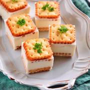 ♡レモンパックレアチーズケーキ♡【#生クリームなし#簡単レシピ#お菓子#ゼラチン】
