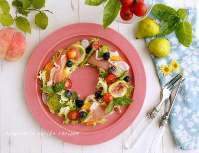 季節の恵み『リースサラダ』